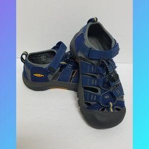 Keen Newport Kids Waterproof Sandals Blue Size 13